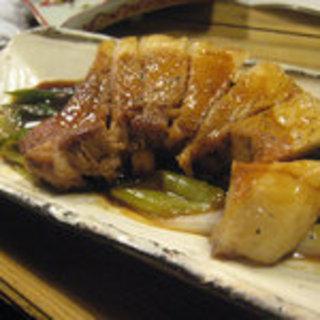 梅山豚のステーキ