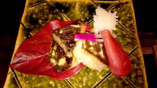 銀鱈の粕漬けクリームチーズ