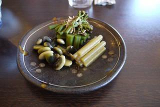 山菜の漬物