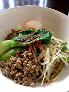 汁なし坦々麺(黒)