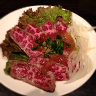 米沢牛 タタキ