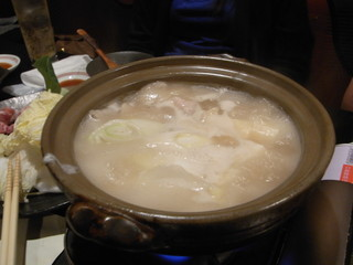 鯛だしコラーゲン鍋