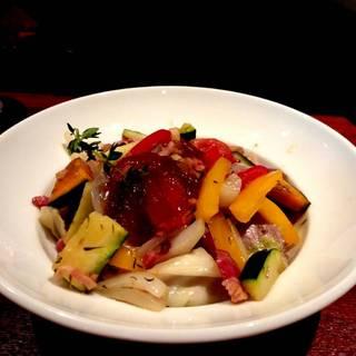 豚肉煮込みのラタトゥイユのランチボール