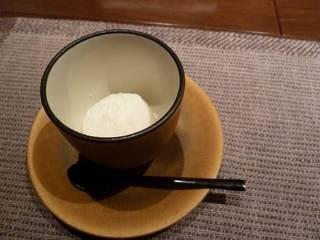 自家製ココナッツのソルベ