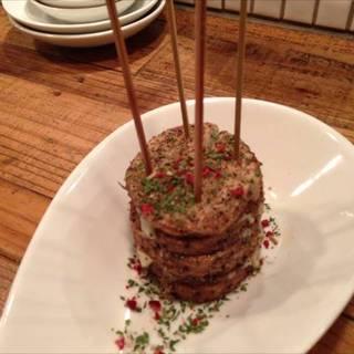 山芋とチーズのスパイシーフライ