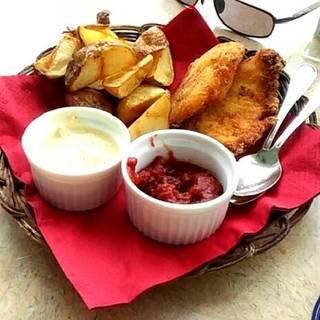 白身魚とポテトのフライ