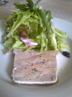 フランス産 鴨のソテーとサラダ