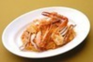 ワタリガニのスパゲッティ