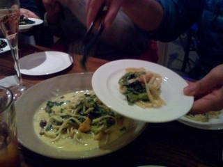 うにクリーム~生麺のタリオリーニ