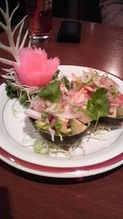海老のアボカドサラダ