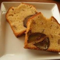 お庭の栗のパウンドケーキ