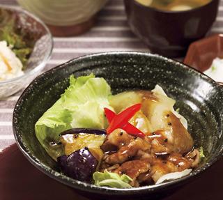 黒酢煮込み定食