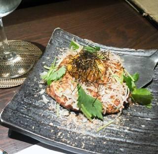 牡蠣山芋焼き