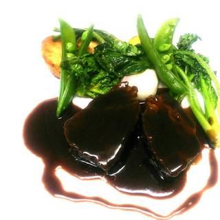 村沢牛肩ロースの煮込み 赤ワインソース