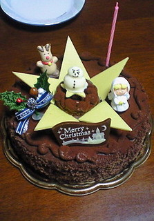 クリスマスケーキ(ショコラ)