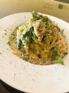 牡蠣のカルボナーラスパゲティ