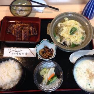 鰻定食 竹