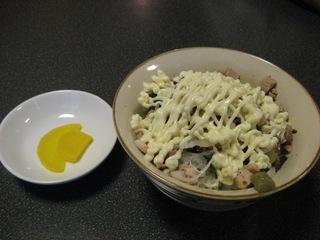 マヨチャーシュー丼