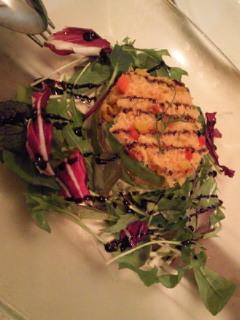 アボカドとズワイ蟹のサラダ