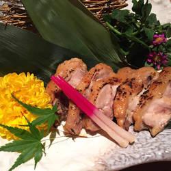 地鶏の西京味噌焼き