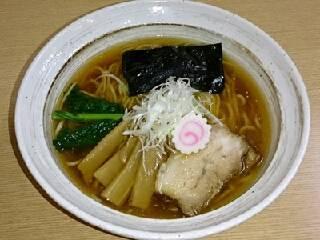 煮干醤油らぁ麺