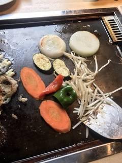 新鮮有機野菜の盛り合わせ
