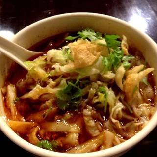 西安風サンラー刀削麺