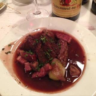 ブルゴーニュ風 牛肉の赤ワイン煮