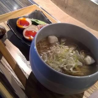 えぽっくのお昼ご飯(貝そばBIANCO)