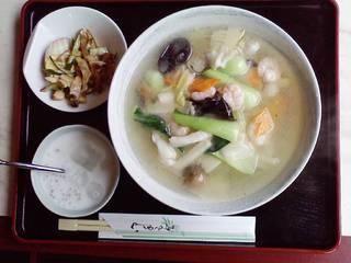 海鮮タンメン