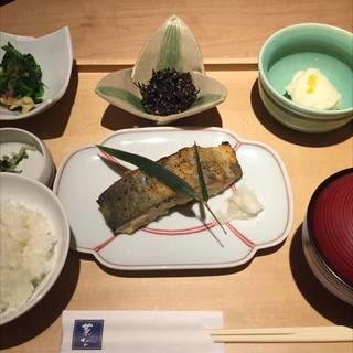 鰆の柚子西京焼き御膳