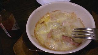 ポテトガーリックバターチーズ焼き