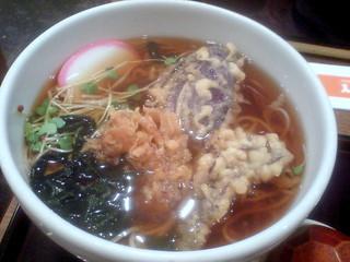 季節の天ぷら蕎麦