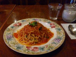 イタリアン トマトのバジル風味 パスタセット