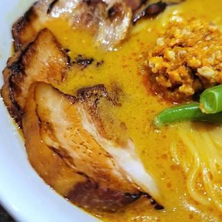 炙りチャーシューカレー担々麺