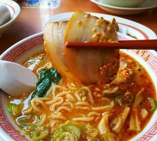 激辛ごま味噌チャーシュー麺