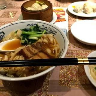 豚バラ肉刀削麺