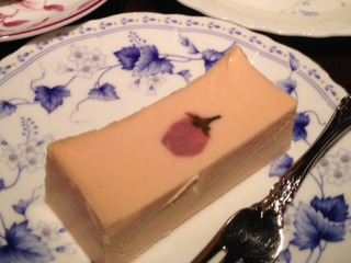 さくらのチーズケーキ