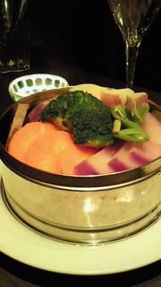 蒸し野菜のバーニャカウダ バーニャソース