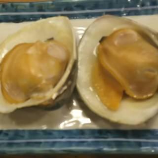 【活】白蛤(ホンビノス貝)の殻焼き