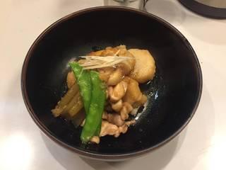 里芋と鳥の照煮