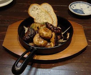マッシュルームのバター焼き