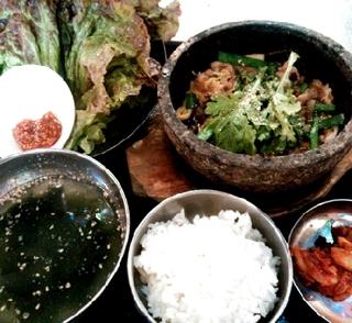 野菜タップリ 石焼デジプルコギ定食