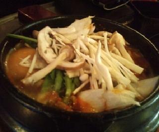 きのこ純豆腐
