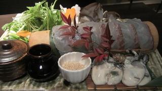 真鯛とカキのコク味噌スープ鍋 ~蟹と海老の味重ね~