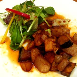 冬野菜の中華な温サラダ