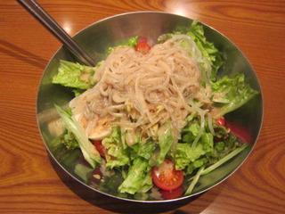 冷麺サラダ