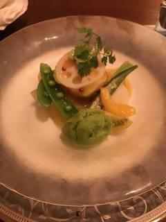 季節のお野菜と海鮮の冷前菜