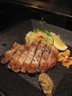 二元豚ロースステーキ