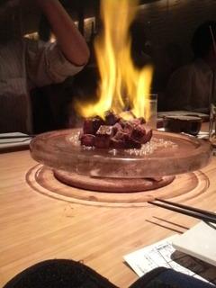 炎のサイコロステーキ